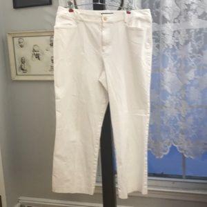 Lauren chinos. All cotton. Size 14